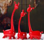 home accessories resin figurine deer sets