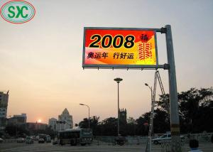 China P6 High Definition LED Billboards With Wide Viewing Angles AC220V / 50H on sale