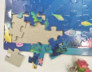 China Paper Small Print Jigsaw Puzzle From Personal Pictures Student School Support on sale