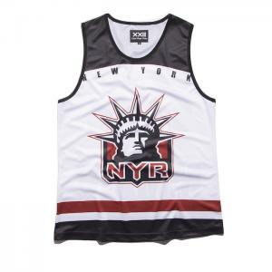 China DIY Your Tops Mens Colorful Digital Printed Singlet  Colorful Tank Tops for Sports on sale