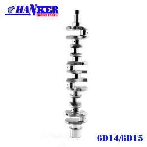 China Engine Auto Parts ME032364 Fuso 6D14 Crankshaft For Mitsubishi 6D15 on sale