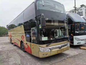 China Telma Retarder Used Yutong Buses Roof Mounted AC One And Half Deck on sale