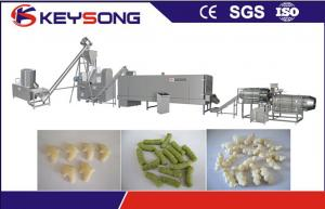 China Automatic Fried Kurkure Manufacturing Machine , Big Capacity Kurkure Extruder Machine supplier