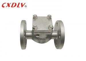 China Horizontal 6 Inch Horizontal Stainless Steel Swing Check Valve on sale