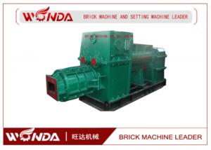China Red Clay Soil Cement Brick Making Machine Vacuum Extruder High Manganese Steel on sale