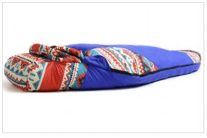 China wholesale envelope sleeping bag Flannel Lined Cheap Sharp Sleeping Bag -15 Degree for adult camping on sale