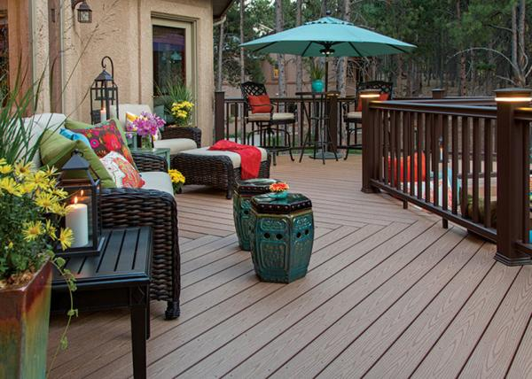 Anti Mould Pvc Composite Wood Decking Flooring Cafe Pvc Decking Flooring For Sale Wpc Composite Decking Manufacturer From China 101714588