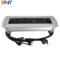 China Automatic Desktop Multimedia Outlet  Silver With 1* VGA / 1* HDMI on sale
