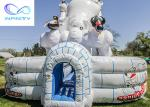 11x6.3x6m Giant Polar Bear Water Slide Polar Plunge Inflatable Pool Water Slide for sale
