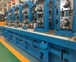 Rectangle Ss Steel Pipe Manufacturing Machine / MS Tube Mill Machine Line