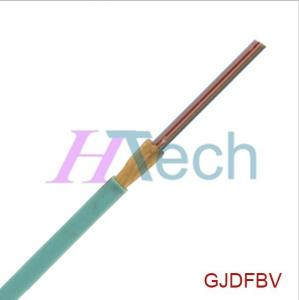 China 2-12 Cores Flat Ribbon Fiber Optic Cable (GJDFBV) on sale