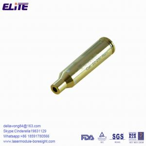 China FDA Deactivated Brass Red Dot 22 250 Laser Bore Sight Cartridge on sale