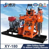 China Widely Used Water Well Drilling Machine for Sale XY-180, 180m Depth Drill Rig on sale