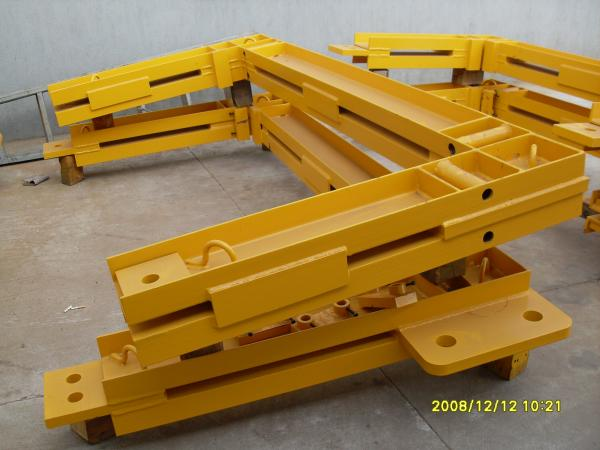 Q345 Steel Structure Frame Potain Tower Crane Spare Parts For Anchor Frame For Sale Potain Tower Crane Spare Parts Manufacturer From China 105034714