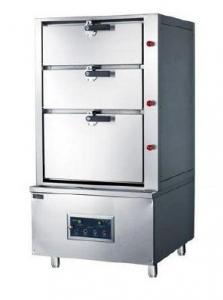Quality Large Capacity Induction Commercial Kitchen Equipment Seafood Steam Cabinet For Cooking