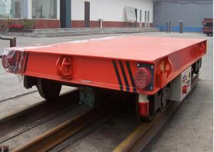 China Heavy Duty Steel Structure Battery Transfer Cart Reliable For Steel Mill on sale