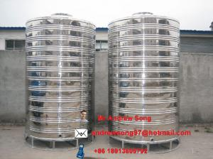 China water storage tank on sale