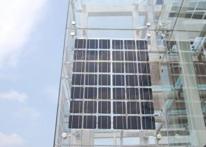 China Transparent BIPV Solar Panel,Mono Cells Building Integrated PV on sale