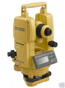 China Topcon DT-205L 5 Theodolite For Surveying Construction on sale