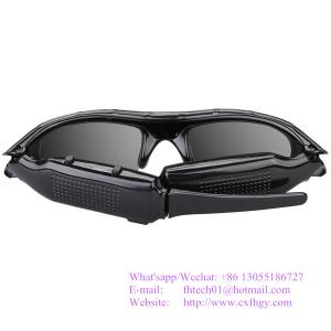 China Wholesale The Best Quality Glasses Camera 1920*1080p Hidden Cam Video Recorder Sunglasses Made In China Factory on sale