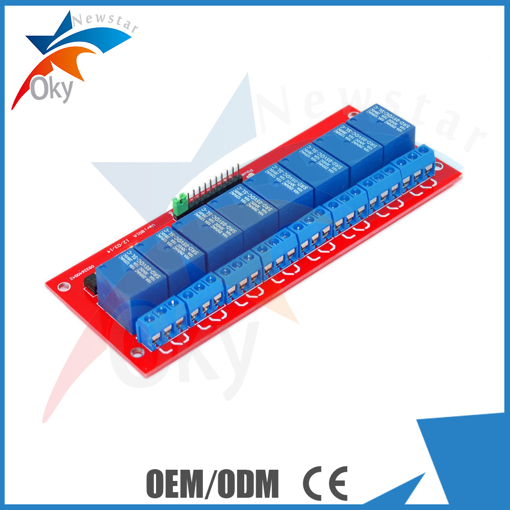 5v 12v Arduino 8 Relay Module Control Board With Optocoupler The 8way Isolation For Sale Manufacturer From China 98908807