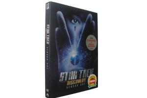 China Star Trek Discovery Season One DVD Movie TV Sci-fi  Series DVD For Family US/UK Edition on sale