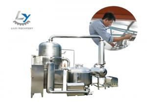 China Food Grade SS 304 Fruit Chips Making Machine , Vacuum Frying Equipment 380V/220V on sale