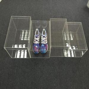 China Clear Multifunctional Household Acrylic Shoe Box  Storage Case on sale