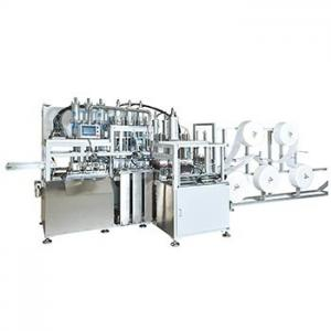 China Stainless Steel Semi Auto Face Mask Machine Easy And Safe Operation on sale
