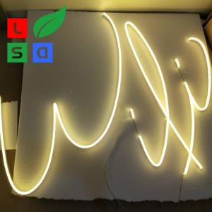 China Customized Design Neon Letter Signs Wall Mounted Neon Signs Using For Home on sale