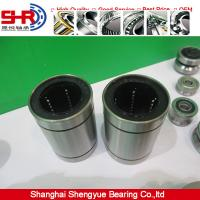 China cylindrical linear bearing LM25UU/AJ/OP slide contact bearing on sale