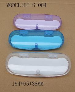 China 2017 fashion clear plastic eyeglasses cases with cheap price on sale