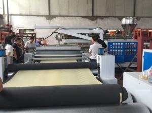China Tandem Extrusion Lamination Machine Pvc Foam Paper Sheet Lamination Machine on sale