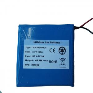 China CE Flat 11.8Ah 12Ah 4.2V Ultra Thin Battery Pack For Toys on sale