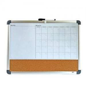 China Hot Sale Combination Cork Board and white board with Aluminum Frame combo Board on sale