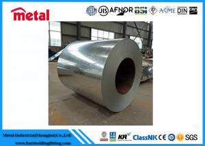China High Toughness Galvanized Steel Coil , Smooth 1045 Brushed Stainless Steel Sheet on sale
