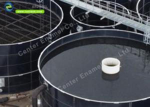 China Enamel Coating Portable Glass Lined Water Storage Tanks For Agricultural on sale