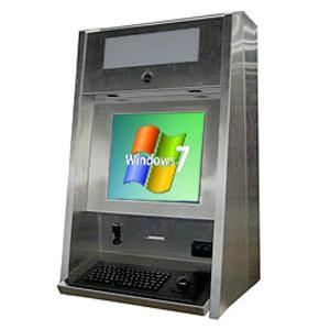 China Bank Countertop Kiosk Steel frame Account Information access on sale