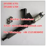 Genuine New DENSO injector 095000-6700 ,095000-6701, 9709500-670 ,R61540080017A ,61540080017A ,61540080017,VG1540080017A