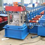Automatic high speed way guardrail board crash barrier roll forming machine
