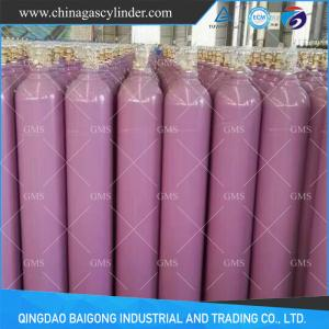 China ISO9809-3 Standard China 2L-80L150bar Seamless Steel Helium Cylinder supplier