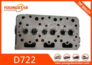 China Casting Iron Auto Cylinder Heads / Kubota D722 D67 Car Engine Parts 1G958-03044   1668903049   16689-03049 on sale