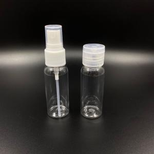 China 30ml Capacity Disinfectant PET ODM Spray Alcohol Bottle on sale