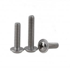China White zinc plated DIN967 Cross Recessed Pan Head Screw with Collar m6 on sale