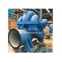 China Split Case Emergency Fire Engine Water Pump Ductile Cast Iron Materials on sale