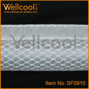 China high permeability and washble warp knitted polyester fabric with top quality on sale