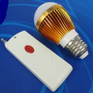 China 3W Energy-saving LED Bulb Lamp with optional RF remote control on sale