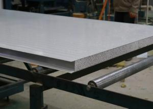 China Waterproof 80kg/M3 Wall Insulation Silica Sandwich Panel on sale