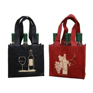 China Promotional Nonwoven Wine Bag on sale