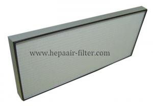 China Aluminium Frame Portable Hepa Air Conditioner Filters 0.3 Micron Filter on sale
